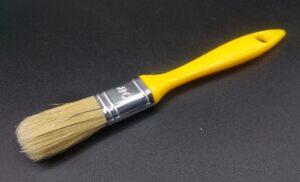 Pennellessa professionale setola bionda con manico in plastica - taglia 20