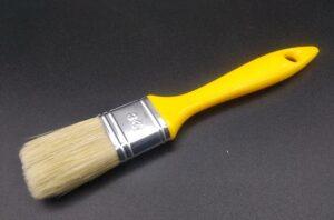 Pennellessa professionale setola bionda con manico in plastica - taglia 30