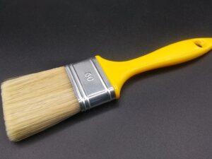 Pennellessa professionale setola bionda con manico in plastica - taglia 50