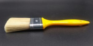 Pennellessa professionale setola bionda con manico in plastica - vista laterale taglia 50