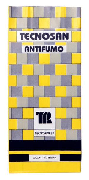 Trattamento Antifumo per pareti interne Tecnosan Tecnorivest etichetta