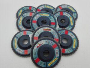 Disco abrasivo lamellare allo zirconio offerta 5 pezzi Imperial