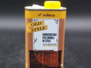 Lucidante a gommalacca per mobili antichi OldStyle Veleca